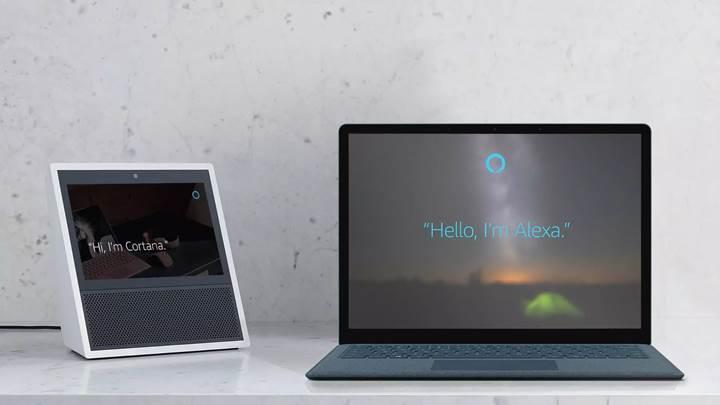 Microsoft Cortana ve Amazon Alexa entegrasyonunun önizlemesi yayınlandı