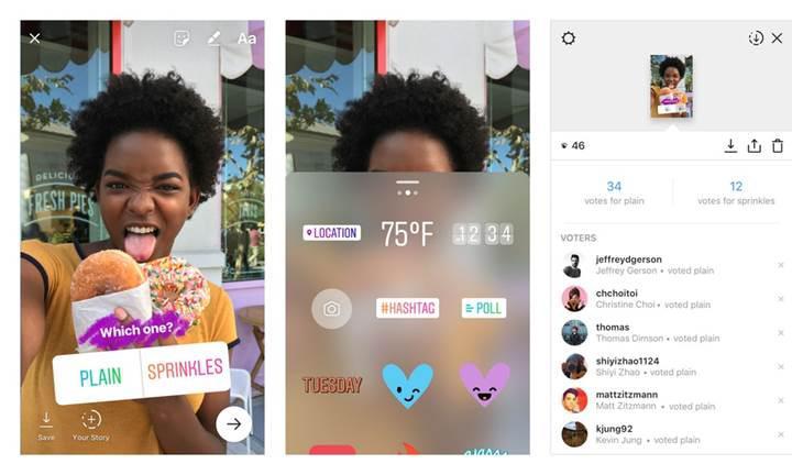 Instagram anketleri artık istenilen kişilere mesaj olarak gönderilebilecek