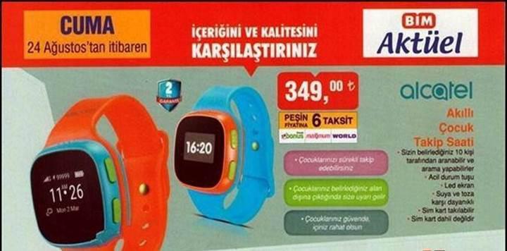 Haftaya BİM'de akıllı çocuk saati, A101'de Nokia 3 var