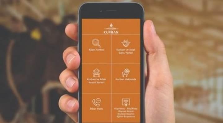 İBB'nin mobil Kurban uygulaması kullanıcıyla buluştu