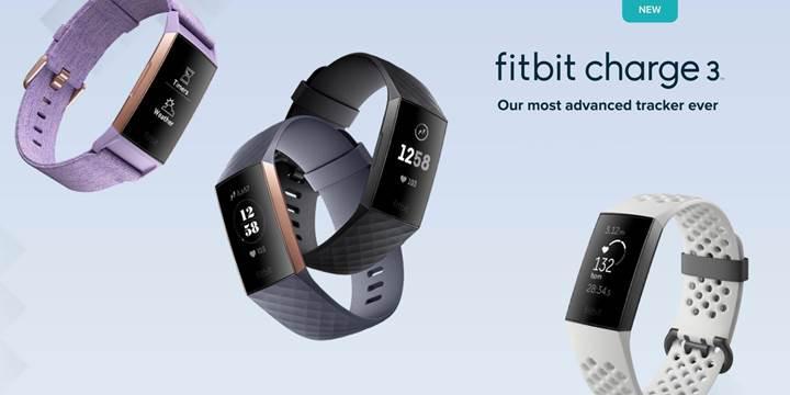 Fitbit Charge 3 duyuruldu
