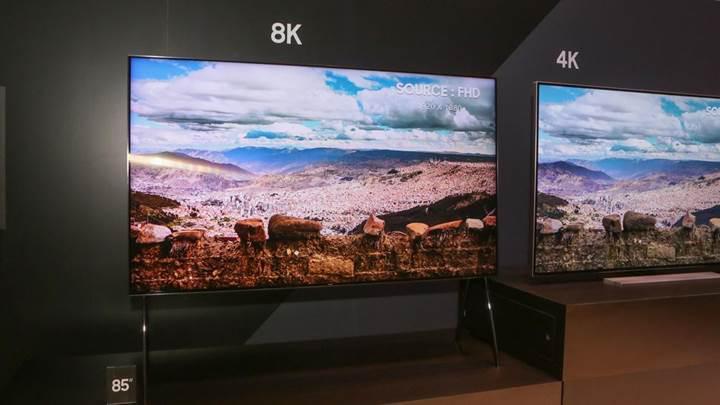 Samsung yaklaşan IFA 2018'de 8K QLED TV'sini sergileyecek