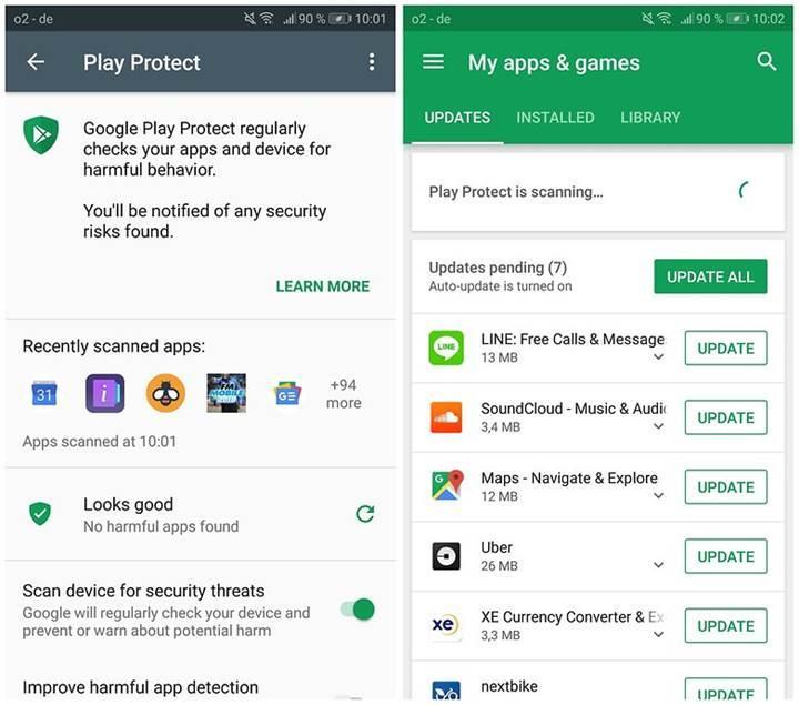 Google Play Protect, en kötü antivirüs aracı seçildi
