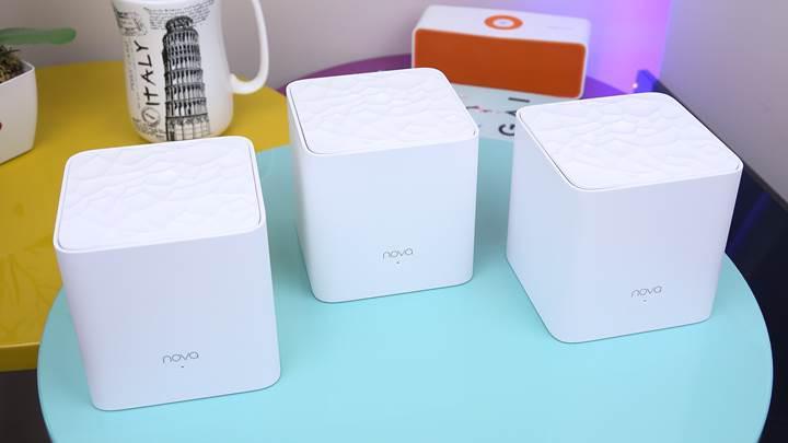 300 metrekare destekli Mesh Wi-Fi