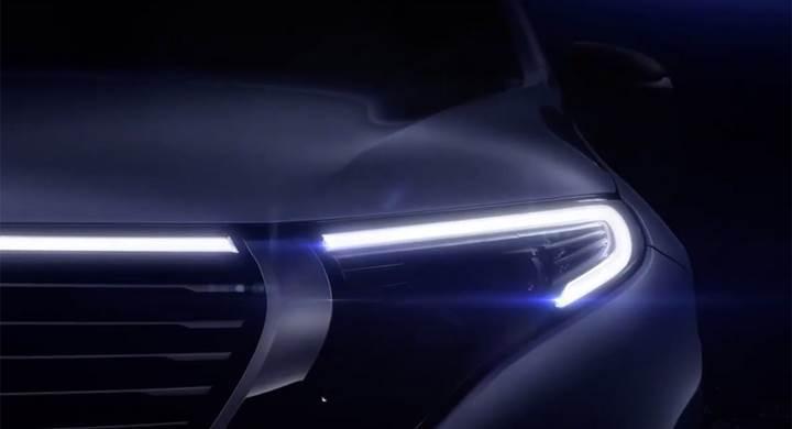 Mercedes, elektrikli SUV modelinin ilk resmi görüntüsünü paylaştı