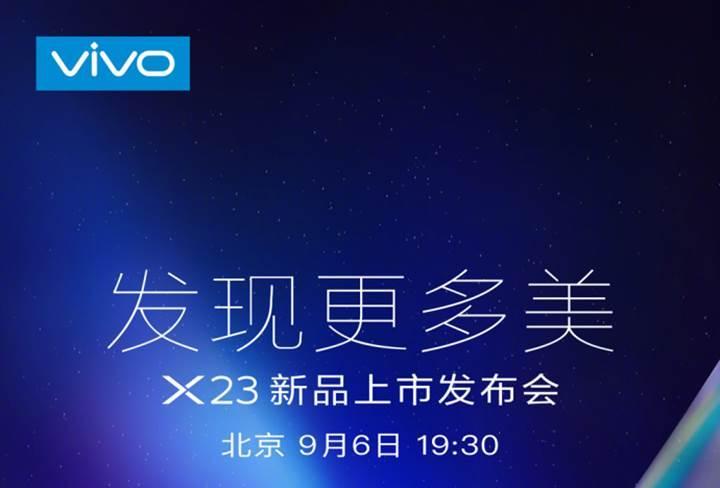 Vivo X23'ün ne zaman tanıtılacağı resmen açıklandı