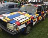1990 Volvo 245 Mondrian