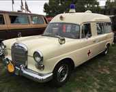 1967 Mercedes Benz 230 Miesen Ambulance