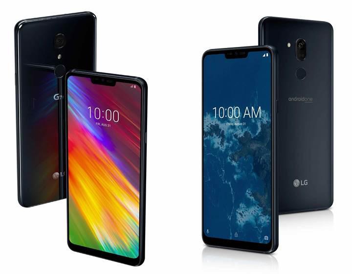 LG G7 One ve G7 Fit resmen duyuruldu