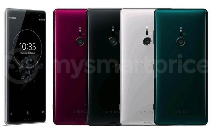 Sony Xperia XZ3 dört farklı renkte sızdı