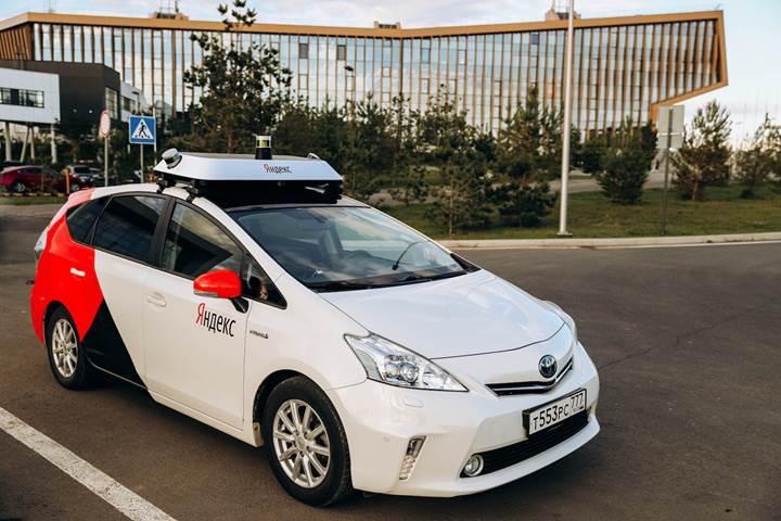 Yandex, Rusya'da otonom araçlarının testine başladı