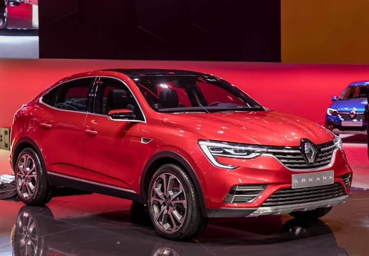 Renault Arkana ortaya çıktı; işte Fransız üreticinin çok konuşulan coupe-SUV modeli