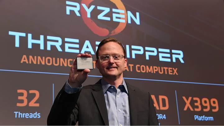 Threadripper işlemcilerinin babası AMD'den ayrıldı