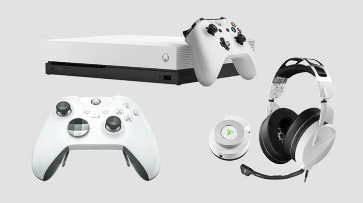 Microsoft beyaz renkli Xbox One X çıkardı