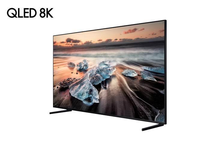 Samsung, 8K çözünürlüklü QLED TV'sini tanıttı