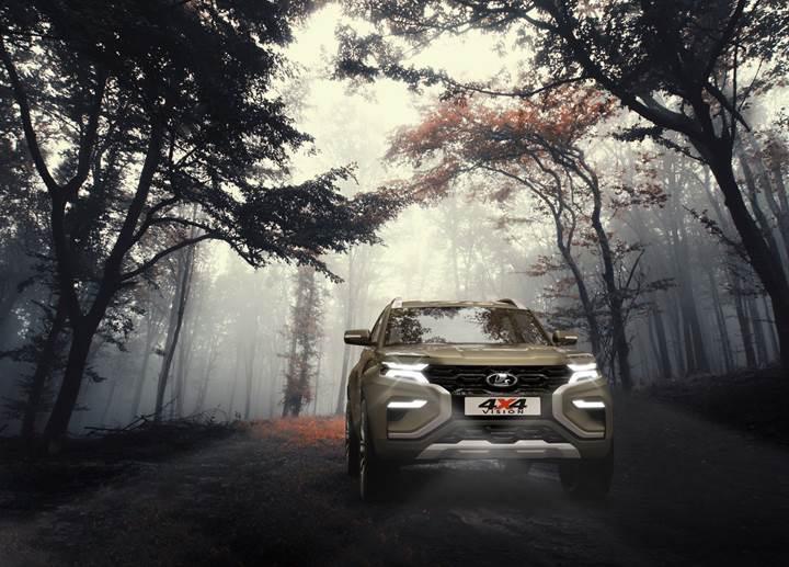 Moskova'da tanıtılan Lada 4x4 Vision Concept, Niva'nın geleceğini gösteriyor olabilir