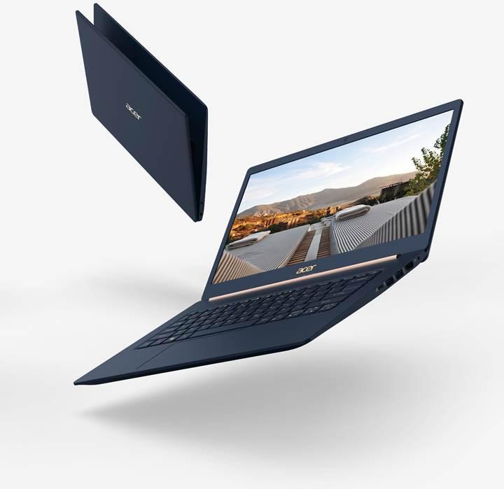Acer IFA 2018'de dünyanın en hafif 15 inç ekrana sahip dizüstü bilgisayarı Swift 5'i tanıttı