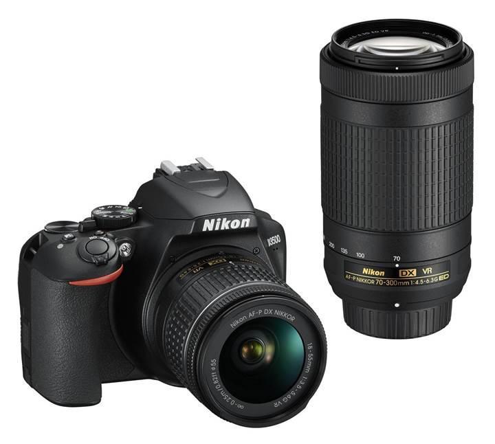 Nikon giriş seviyesi DSLR fotoğraf makinesi D3500'ü tanıttı