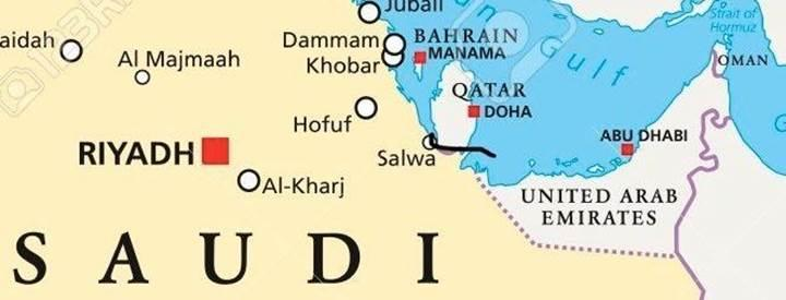 Suudi Arabistan, Katar'ı ada haline getirerek dünya coğrafyasını değiştiriyor