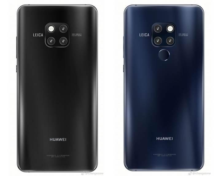 Huawei Mate 20 Pro'nun basın görselleri ortaya çıktı