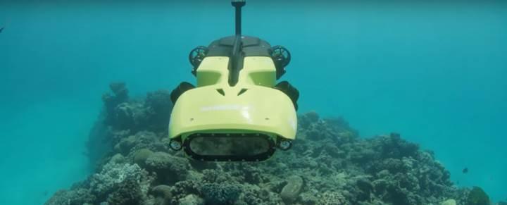 Su altı drone'u RangerBot, Büyük Set Resifi'ni koruyacak