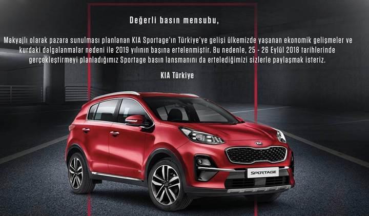 Yeni Kia Sportage'ın Türkiye'ye gelişi ekonomik nedenler yüzünden ertelendi