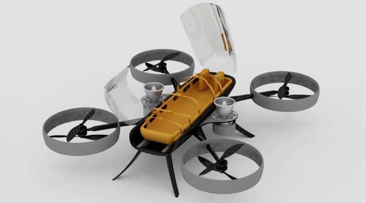 Kendi kendini yönetebilen ambulans drone tasarımı, yaratıcısına 20 bin Dolar kazandırdı