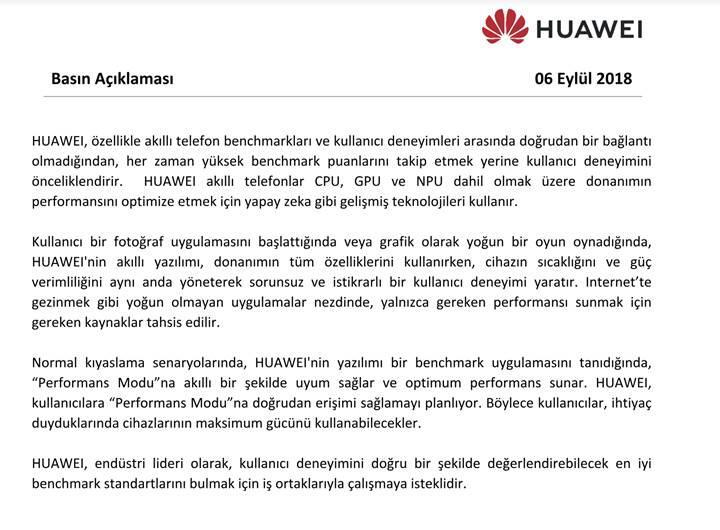 Huawei ve Honor'un performans hilesinde önemli gelişmeler