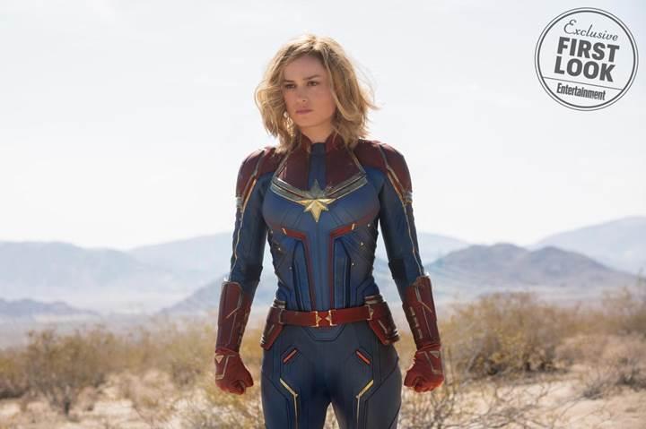 Captain Marvel filminden ilk görüntüler yayımlandı