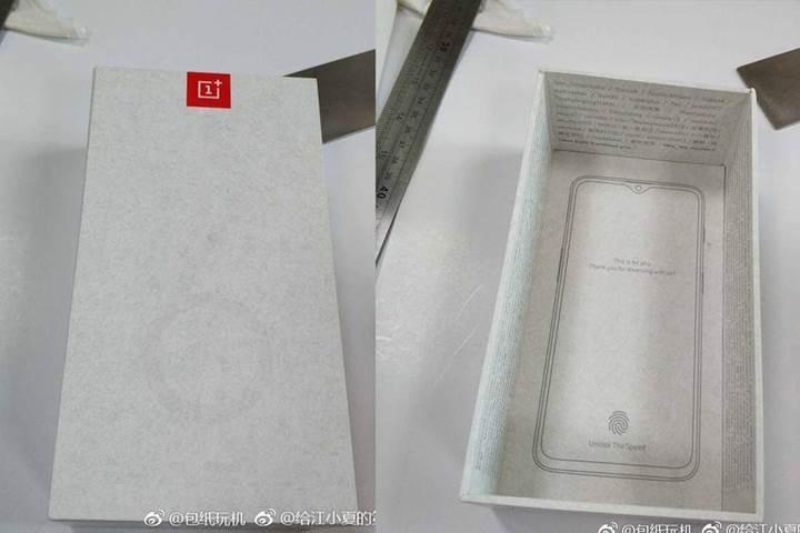 Küçük çentikli OnePlus 6T'nin yeni görüntüsü ortaya çıktı