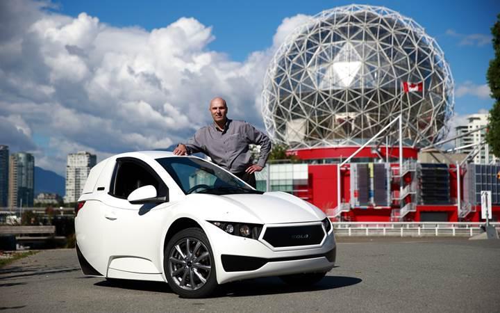 Tek kişilik elektrikli araç Solo, ABD'de piyasaya sürüldü