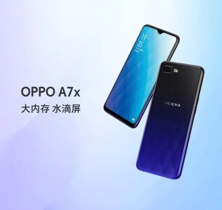 Oppo A7X tanıtıldı!