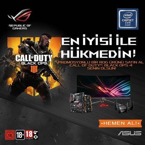 ASUS ROG, Call of Duty: Black Ops 4 için Activision ile işbirliği yaptı