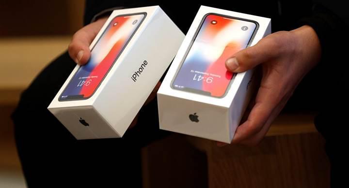 Apple şimdiye kadar 63 milyon adet iPhone X sattı