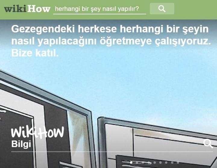 'Nasıl yapılır?' sorusuna 17 dilde yanıt veren wikiHow'a Türkçe dil desteği geldi