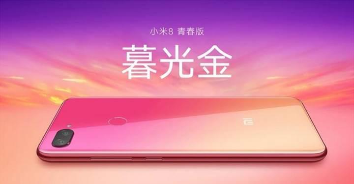 Xiaomi Mi 8 Youth'un yeni renk seçenekleri ortaya çıktı