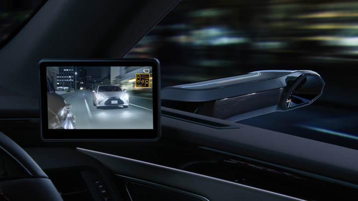 Lexus, yan aynalar yerine kameralar kullanacak