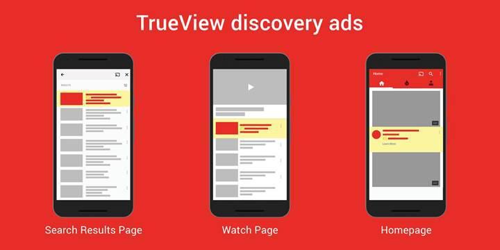 Youtube'un mobil versiyonuna dikey reklamlar geliyor