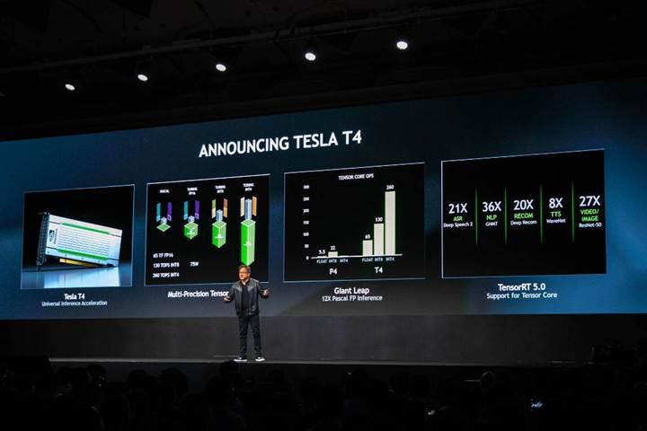 Turing tabanlı Tesla T4 hızlandırıcı duyuruldu