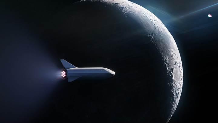 spacex ay turizmi ilk turistler