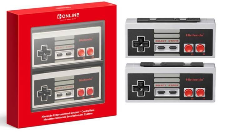 Nintendo Switch için kablosuz NES kontrolcüleri duyuruldu