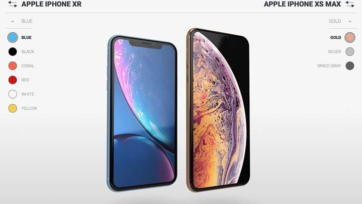 Yeni iPhone'ları 3 boyutlu olarak birbirleriyle ve diğer modellerle karşılaştırın