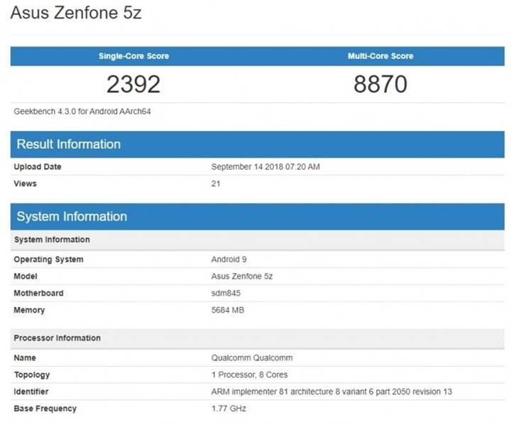Asus Zenfone 5Z kullanıcılarına Android Pie müjdesi!