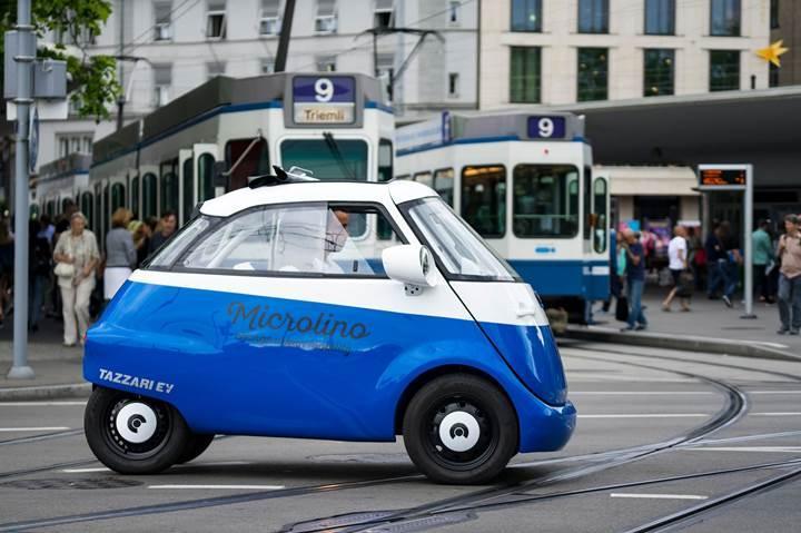 Sevimli elektrikli otomobil Microlino 100 milyon euroluk ön sipariş aldı