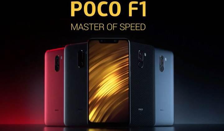Android 9 sürümüne sahip Pocophone F1 geekbench testlerinde görüldü