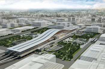 """""""İstasyonlar ve ulaşım merkezleri"""" kategorisinde kazananlardan biri/ Tabanlıoğlu Mimarlık tarafından tasarlanan Astana Tren İstasyonu, Kazakistan"""