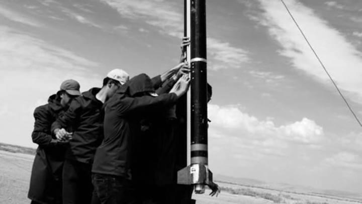 Tuz Gölü'nde yerli roketler yarıştı