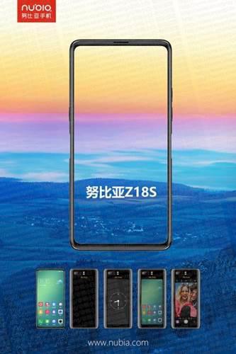 Çift ekranlı ZTE nubia Z18S videoda göründü