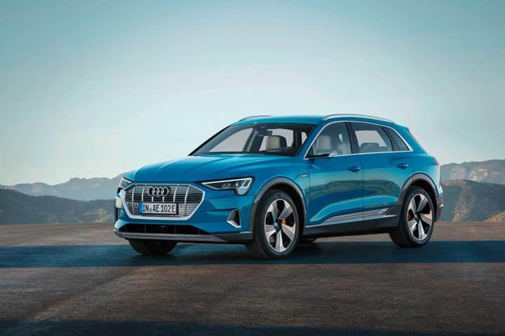 Audi'nin ilk tam elektrikli aracı tanıtıldı: Karşınızda Audi e-tron