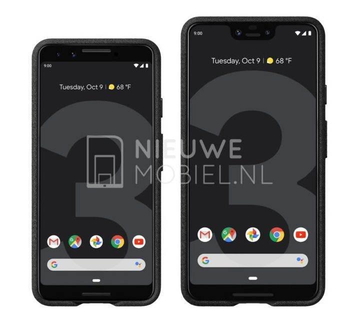Google Pixel 3 ve Pixel 3 XL'in basın görselleri ortaya çıktı